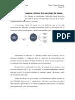 Delimitación conceptual e historia de la psicología del trabajo
