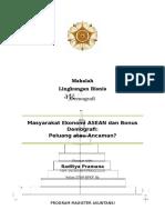 Demografi_Raditya Pramana_MEA Dan Bonus Demografi