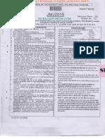 Si Delhi Police Cpo Exam 15 Paper Morning Shift