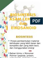 Biosintesis Asam Lemak-eicosanoid
