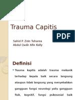 Trauma Capitis Slide Ptt