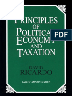 David Ricardo - On Principles of Political Economy and Taxation