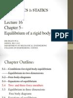 Equilibrium of Rigid Body(2)