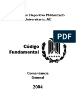 Codigo Fundamental del PDMU