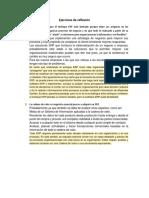 Ejercicios de Reflexión Integración de Los Sistemas de Gestión Empresarial.