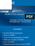 MGMT3724 Lecture Week 1