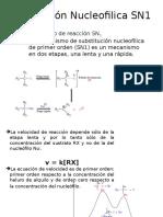 Sustitución Nucleofilica SN1