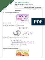 Class 8 CBSE Notes