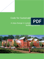 Code for Sustainable Homes - A step-change in sustainable home building practice