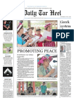 The Daily Tar Heel for June 3, 2010