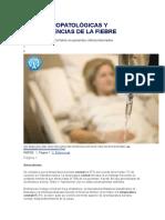 Fisiopatologiae Consequencias Da Febre
