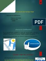 Normas de Certificacion