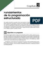 Capítulo 2, fundamentos de la programación estructurada.pdf