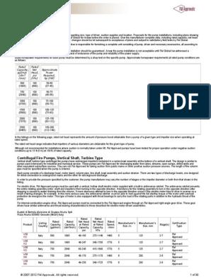 AURORA PUMP VT (FM) pdf   Pump   Engines