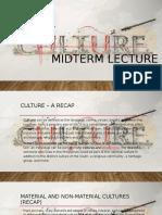 Cultures Reintroduction