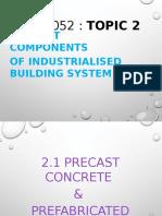 Topic 2 Precast Components of Ibs