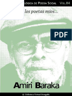 Cuaderno de Poesia Critica 84 Amiri Baraka