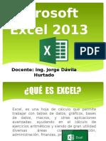 Clase 01 Ucv- Excel 2013
