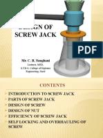 Design of Screw Jack