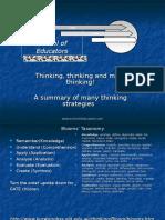 Thinking Skills Workshop