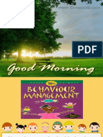 Non Pharmacological Behavior Management