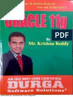 Oracle 11g/12c textbook pdf by Krishna Reddy,durga soft