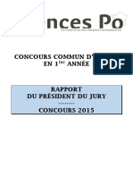 Rapport Jury Cc1a 2015-2