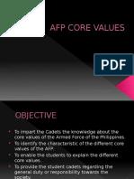 Afp Core Values (2)