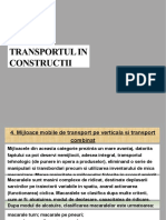 Transport in Constructii