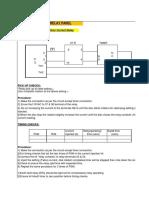 155647429 Relay Testing Procedure