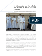 Lumen Dei, intervenido por la Iglesia, traslada de Madrid a Nava su base central en España