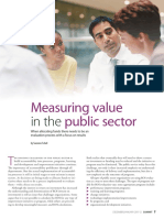 Measuring Value in the Public Sector