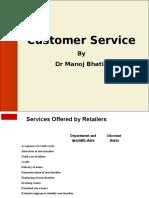 Customer Service Retail