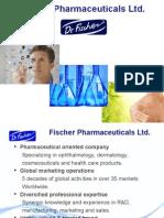 Dr Fisher - Fischer Pharmaceuticals Presentation