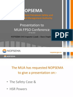 Presentation MUA FPSO Conference 16 July 2012 HSR Powers and Safety Cases