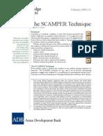 The Scamper Technique