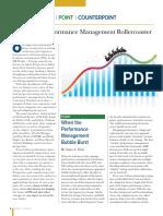 When the Performance Management Bubble Burst