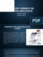 Analize Chimice de Fluide Biologice