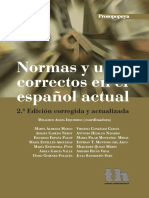 Normas y usos correctos del españo