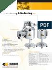 Cemach Elevating Type De-Burring & De-Dusting cGMP