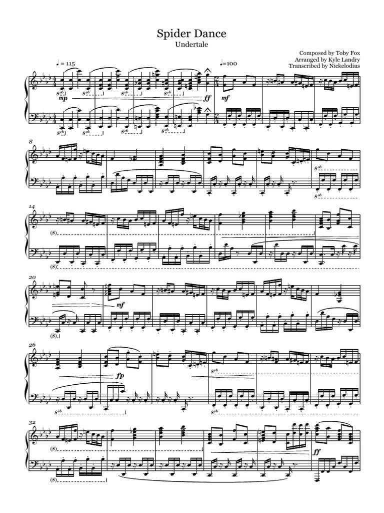 Dating fight undertake piano sheet