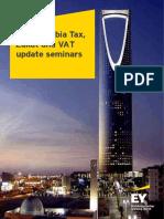 EY Saudi Arabia Tax Seminar