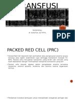 Transfusi PRC Dan WBC