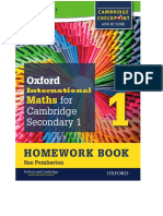 Cambridge Checkpoint Workbook 1