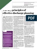 130122 Effective Discharge Planning