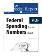 Federal Spending By the Numbers 2010