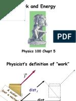 Physics 100 Chapt 5