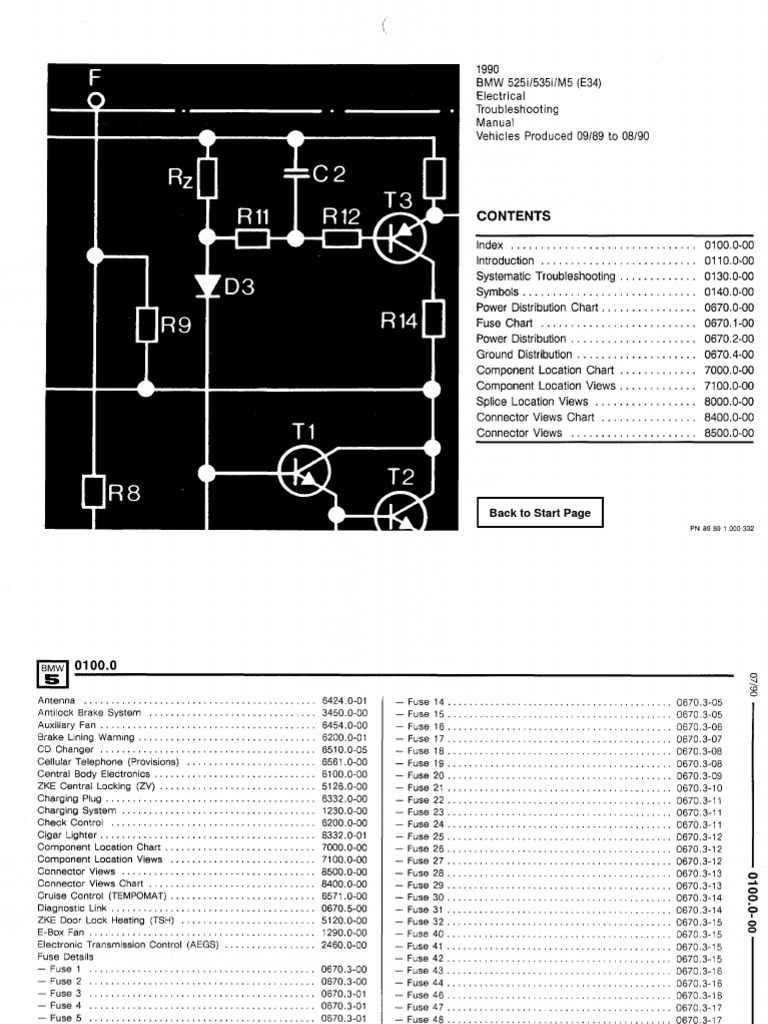 Interesting BMW 535i E34 Wiring Diagram Gallery - Best Image Wire ...