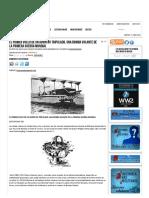 El Primer Vuelo de Un Avión No Tripulado, Una Bomba Volante de La Primera Guerra Mundial