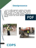 Police Patrol Report
